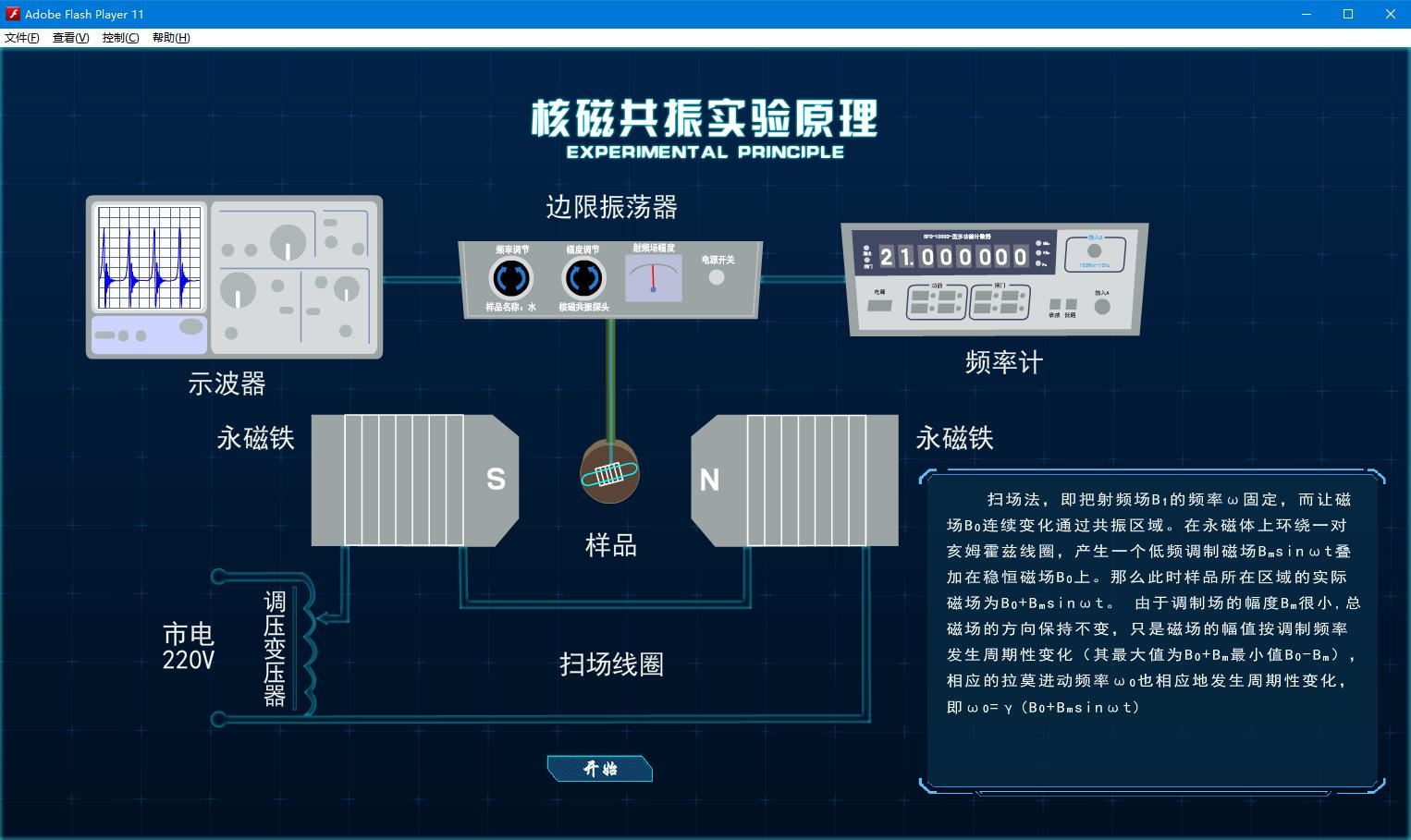 北京欧倍尔物理学新品发布|核磁共振实验3D虚拟仿真软件