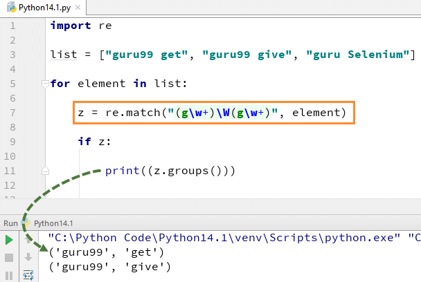 DAY6-step5 Python正则表达式:re.match, re.search, re.findall