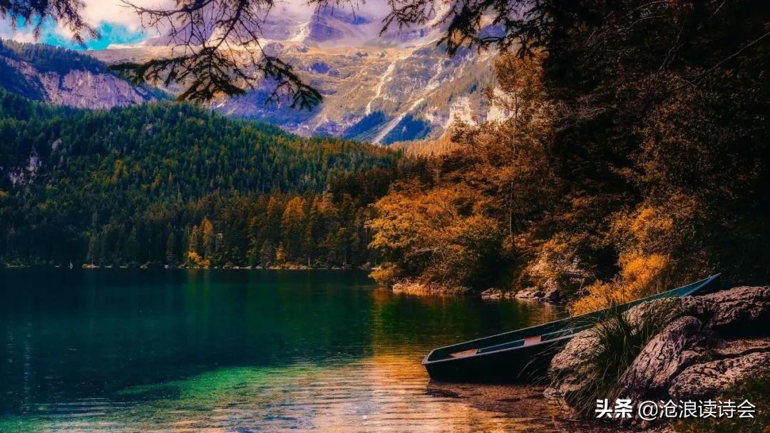 37首律诗写尽秋天之美,心若清凉,风自怡人,感悟人生大境界-第5张图片-诗句网