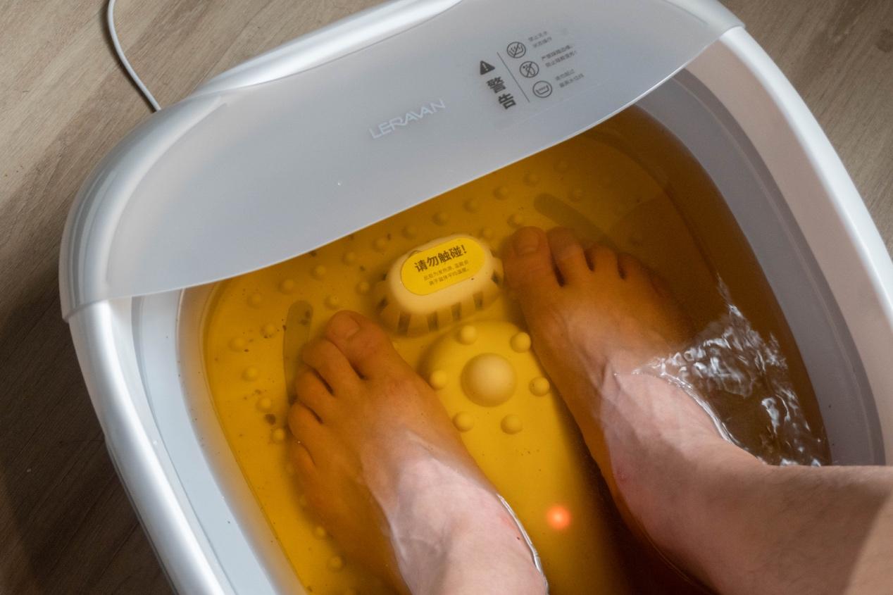 中秋送礼送什么?小米有品乐伽足浴盆礼盒装舒服又漂亮