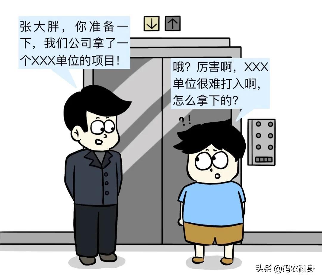 漫画 悲催的中国式软件开发