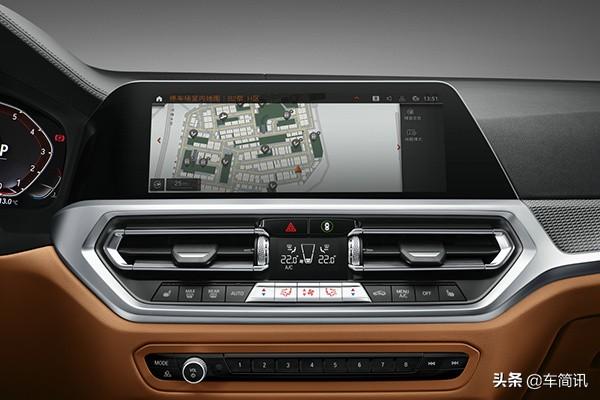 宝马新款3系正式上市,增加人性化科技配置