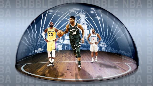 挽回15億美元損失!100天沒有一人感染,NBA復賽取得巨大成功!-黑特籃球-NBA新聞影音圖片分享社區