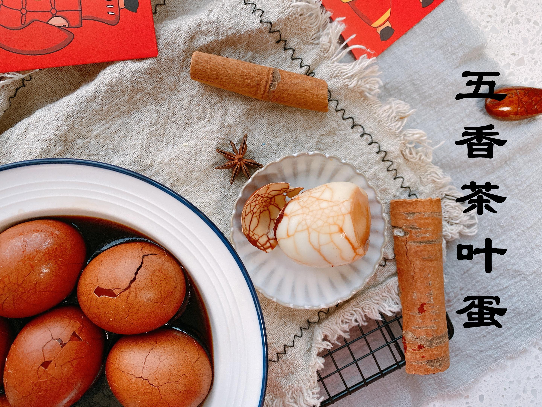 春節待客必備的五香茶葉蛋,想要鹹香入味,30年老配方分享給你
