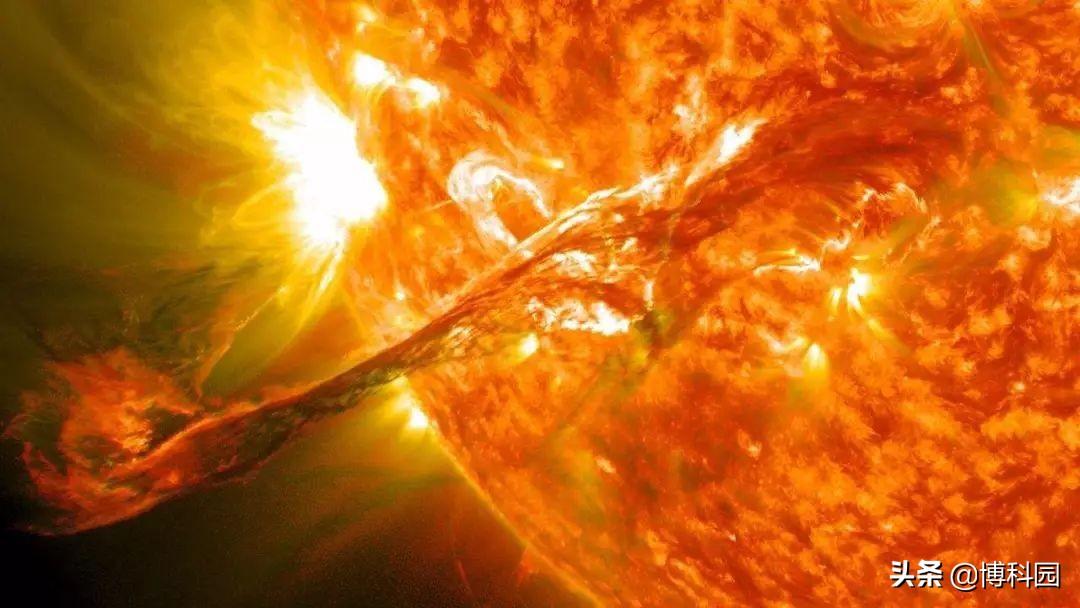 不是随便说说,太阳喘口气,对地球都有实质性的物质影响