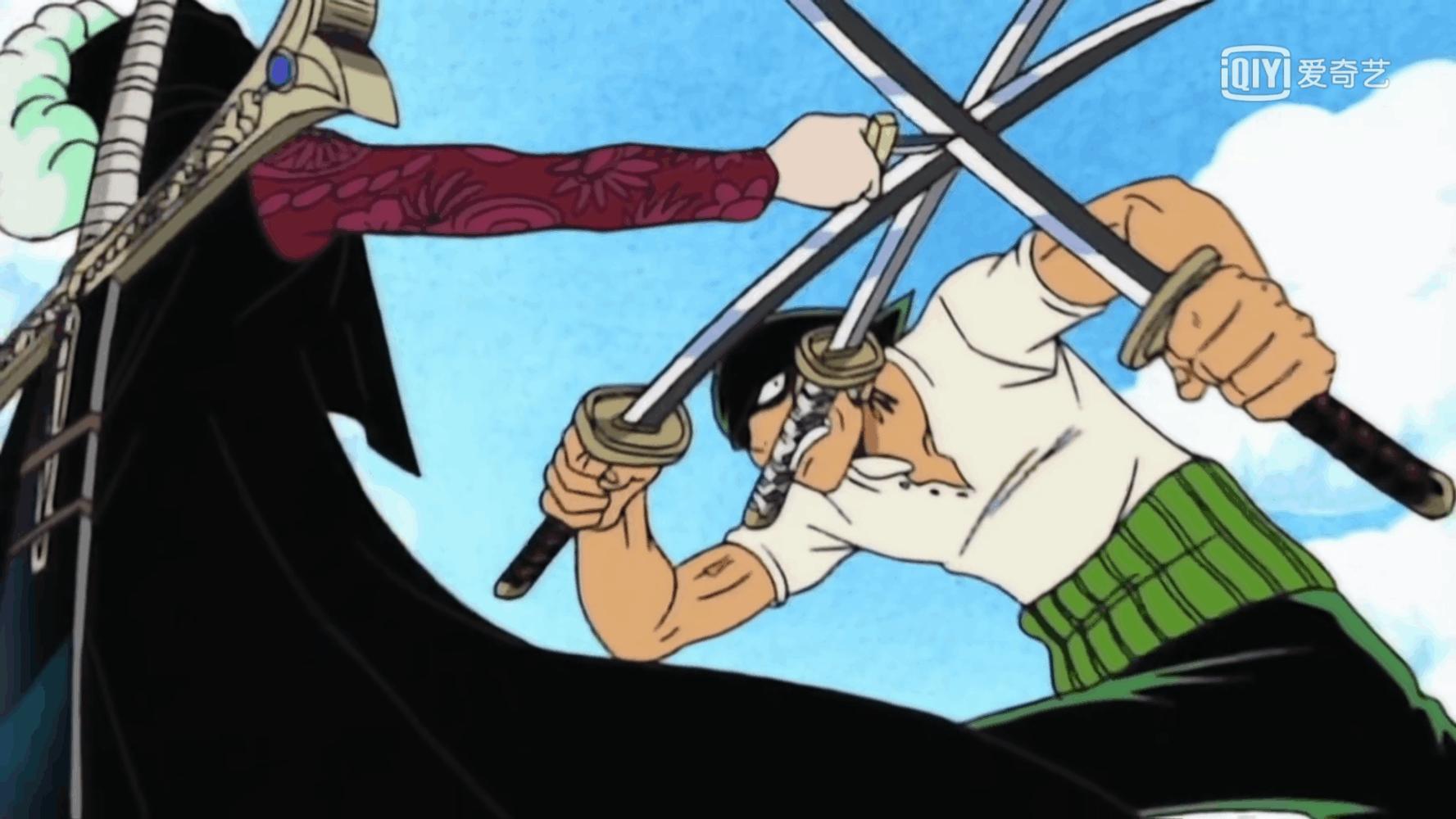 海賊王:6場不自量力的挑戰,索隆挑戰鷹眼,基德招惹紅發