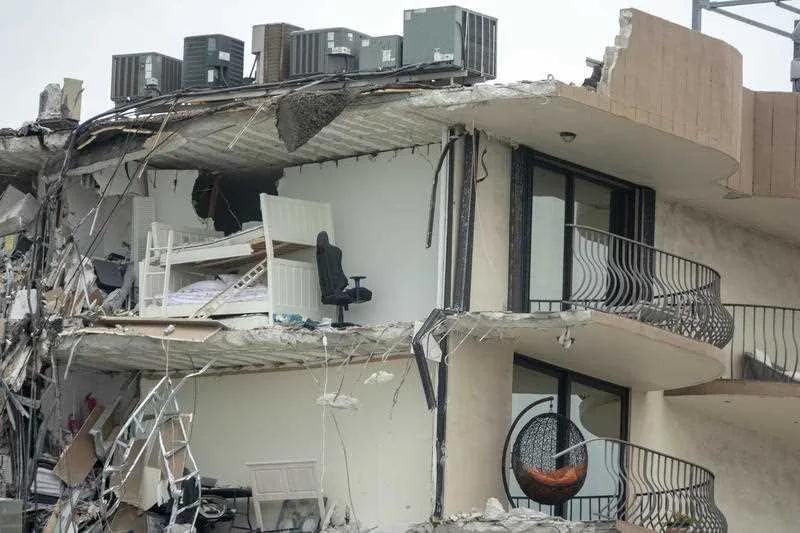 美国迈阿密公寓倒塌,至少3死99人失踪,倒塌之前早有征兆?