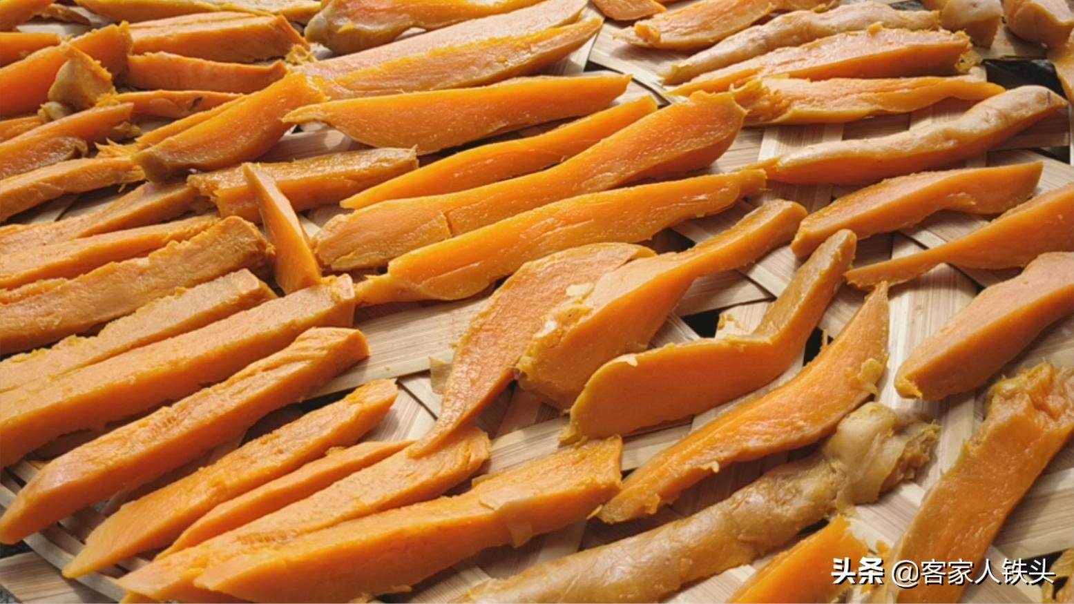 20斤红薯做客家传统小吃,香甜软糯做法简单,一开吃就停不下来