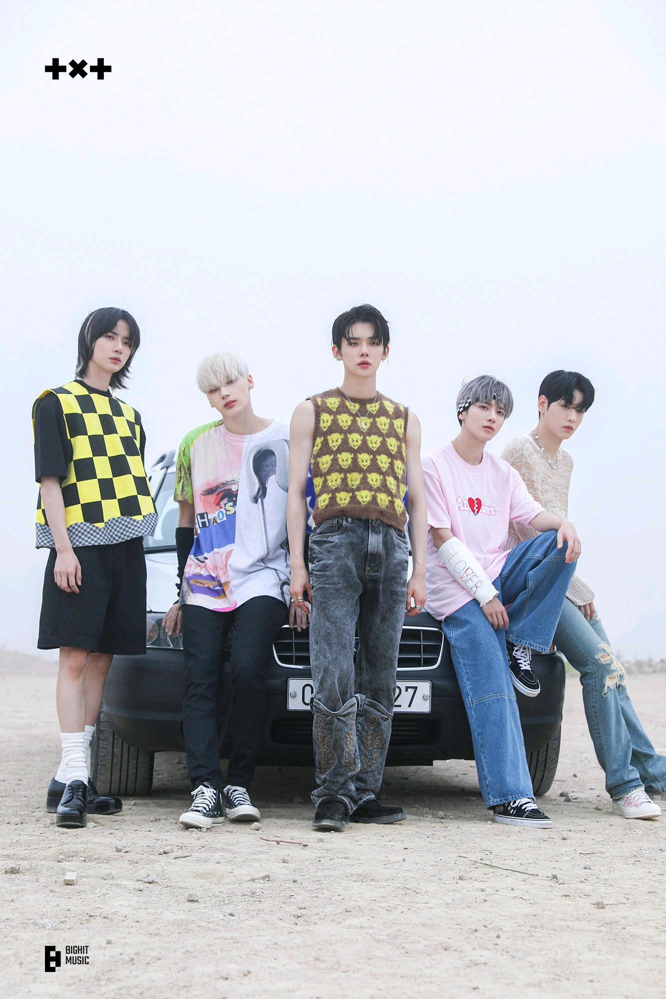 TXT登全球大势男团?蝉联日本榜单冠军,BTS外唯一进TOP10的KPOP
