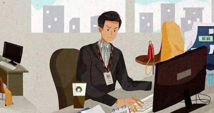 一图揭秘限制你潜能的4个工作坏习惯