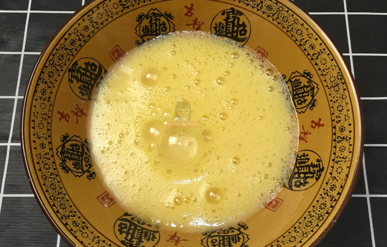 一盆面粉,几个鸡蛋,搅一搅,快速做早餐鸡蛋饼 早餐鸡蛋饼 第1张