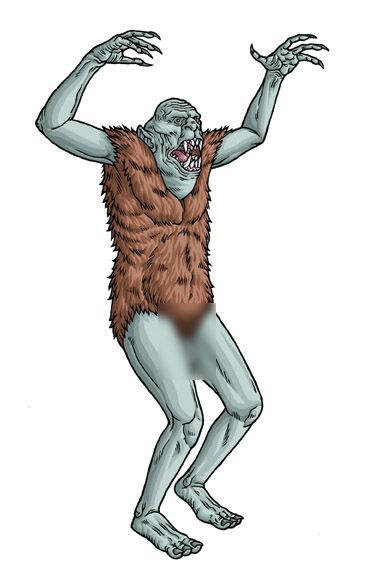 克苏鲁神话生物:沃米人