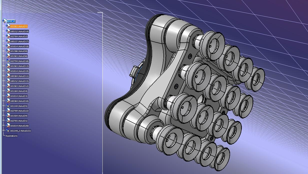 Onrobot VG10真空夹持器真空夹爪3D数模图纸 STEP格式
