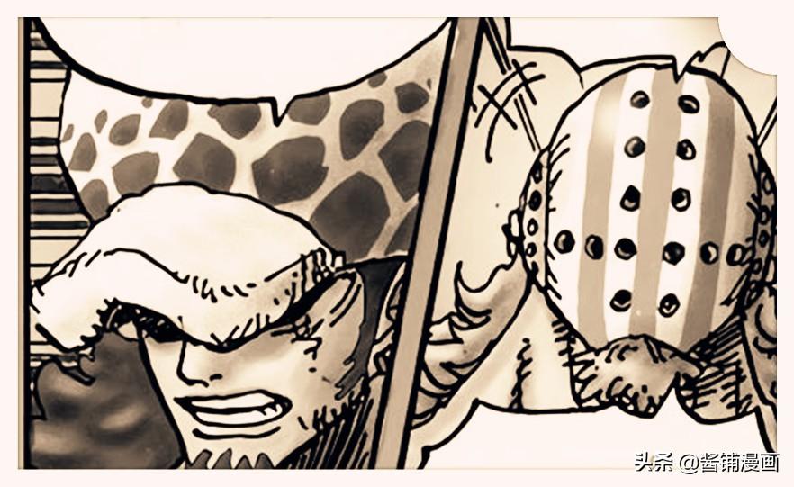 海賊王1009話,索隆擋下兩大四皇組合技,基德服氣並感謝索隆