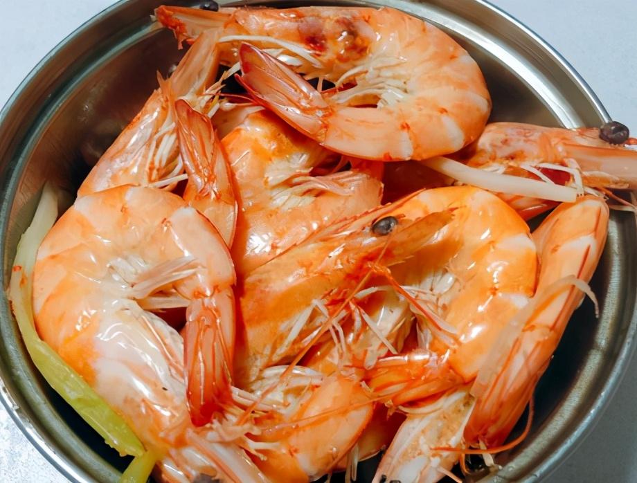煮大虾的做法步骤图 虾肉鲜味足嫩滑不老