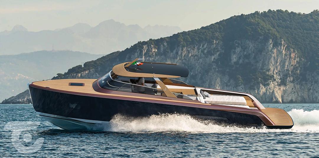 超级游艇的理想接驳艇和周末巡航艇的最强选择