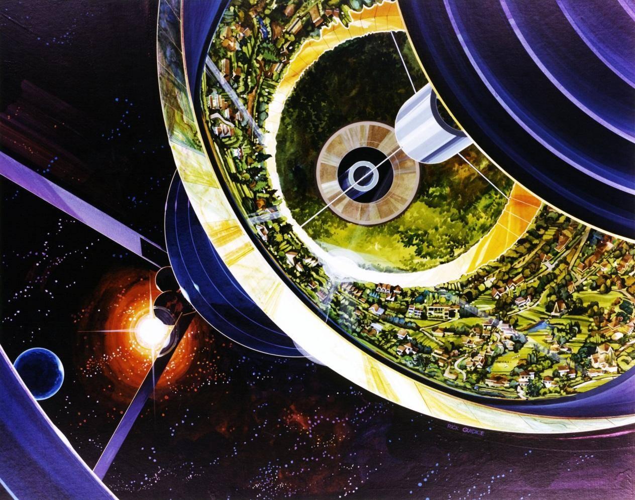 为什么只有科幻小说中的空间站在旋转呢?