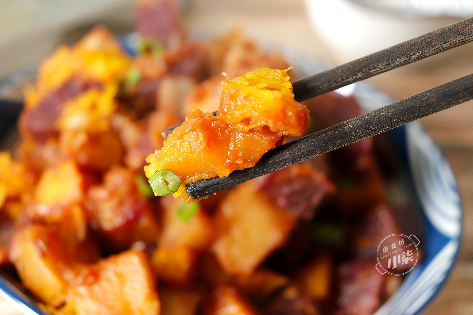 南瓜土豆這樣做,去飯店都吃不到,營養美味,出鍋比吃紅燒肉還香
