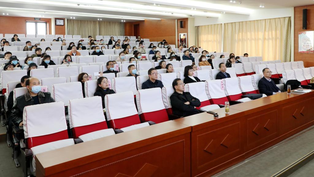 咸阳职院举办教师教学能力比赛专题培训会