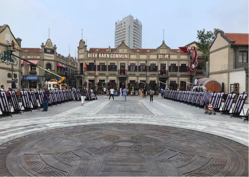 烟台市所城里、朝阳街(一期)历史文化街区保护性改造项目