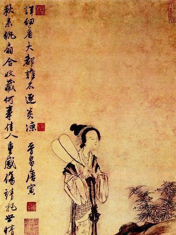 古代女子与团扇的渊源