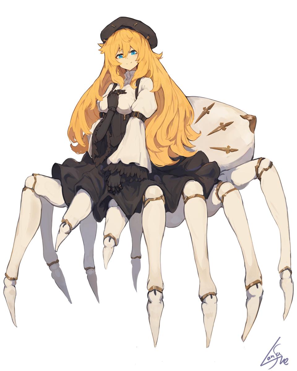 想看蜘蛛子的「人形態」?不如先拿這位畫師解解饞
