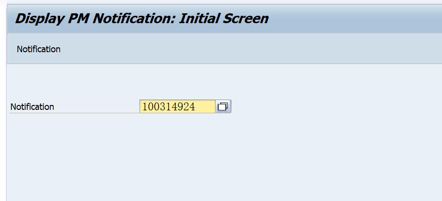 SAP PM 入门系列13 - IW23 显示一个维护通知单