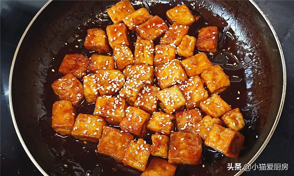 【糖醋脆皮豆腐】做法步骤图 酸甜开胃 满满一盘不够吃