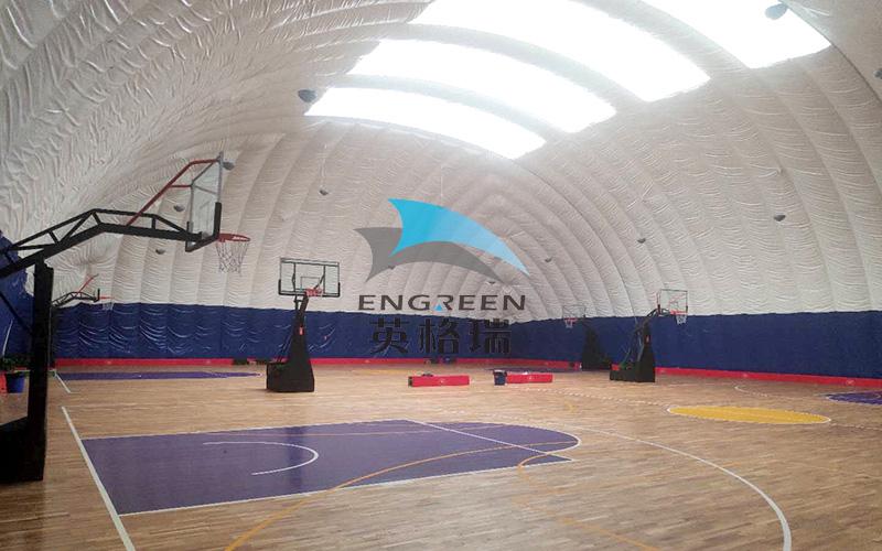 """""""冬暖夏凉""""的膜建筑篮球场馆原来有这么多你不知道的事"""