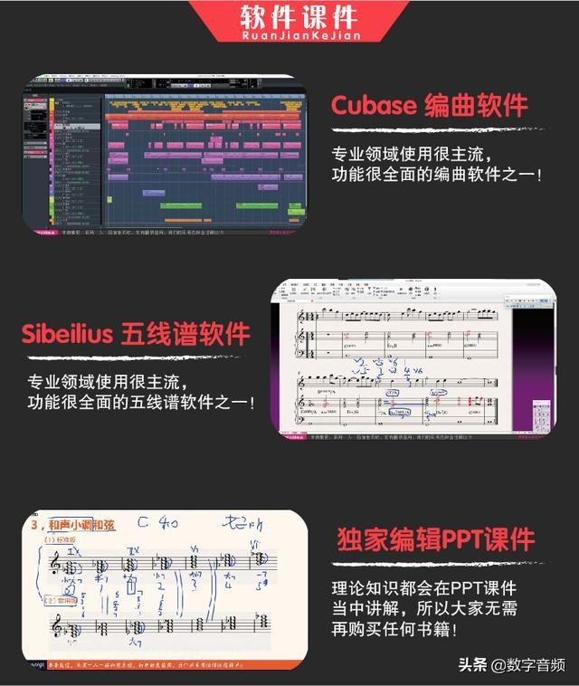重生零基础与进阶编曲作曲高质量教程(280集)