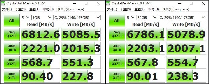 6800MB/s的SSD�Q?0W�?050�Q�惠普暗��q���?评测