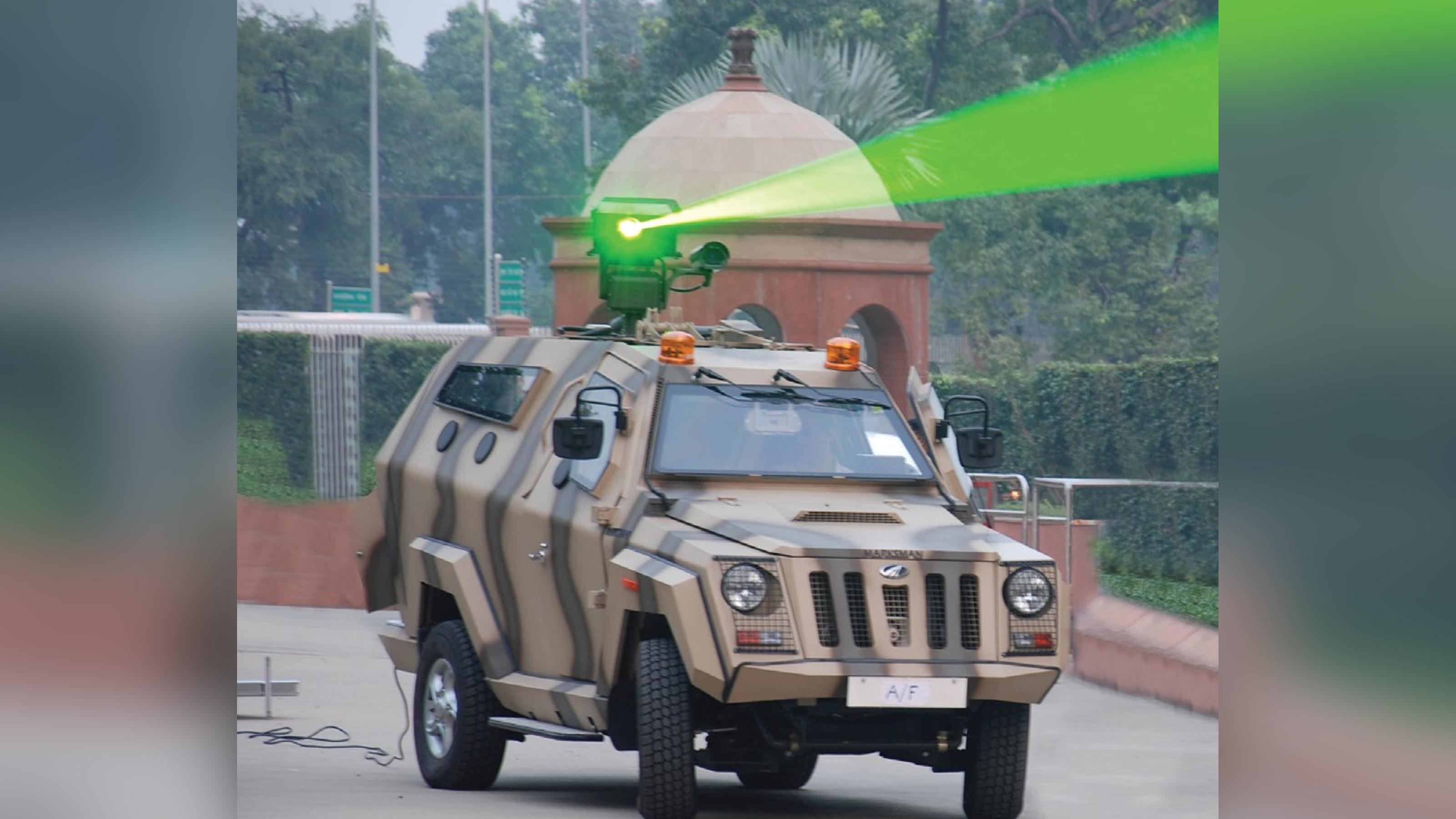 印度成功造出2种激光武器?与美国和以色列联手,首先打越境无人机