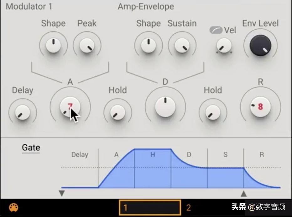 Massive X合成器:华丽的 Pad 音色怎么做?进阶版