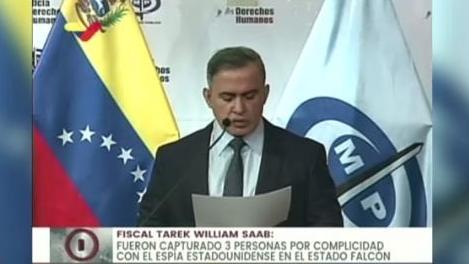委内瑞拉总检察长宣布对美国间谍提起诉讼 美国暂未回应