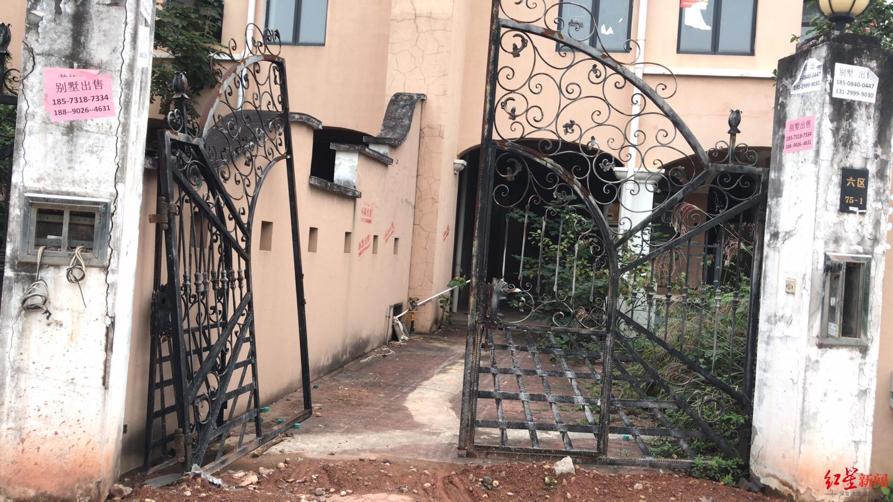 """长沙78栋别墅""""无人认领"""",所在小区曾号称湖南最好别墅楼盘"""
