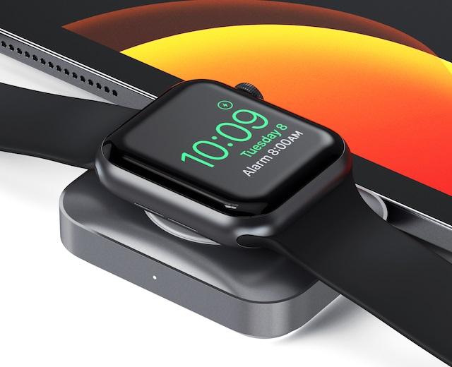 Satechi为Apple Watch和AirPods推出新的二合一USB-C充电器