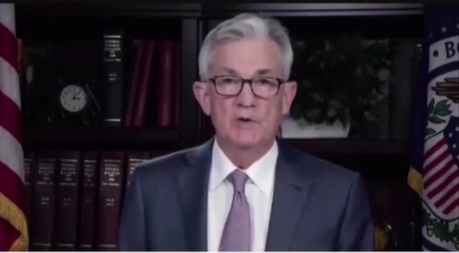 鲍威尔:美国失业率接近10%,通胀预期难以维持