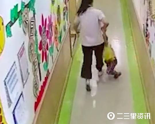官方通报山东一保育员粗暴对待幼儿:涉事保育员已停职