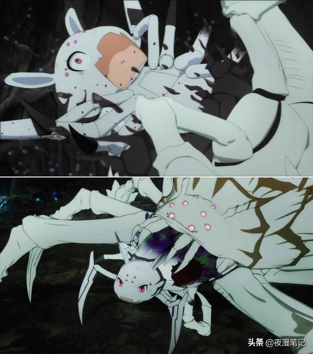 轉生成蜘蛛:女王蜘蛛怪「弱化中」還那麼強?女主不該招惹老媽