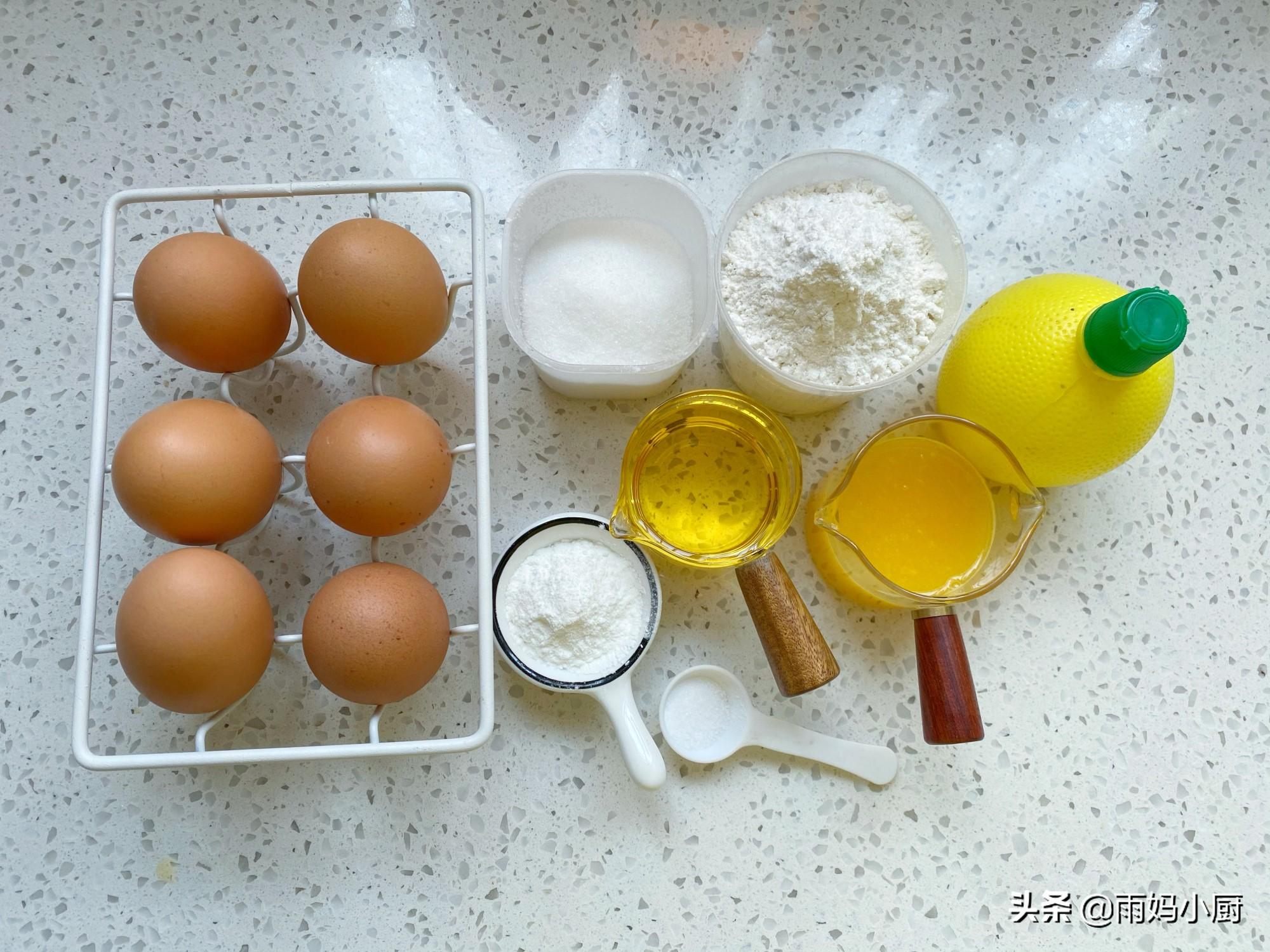 橙子也能做蛋糕?橙香十足,松软细腻,比原味戚风好吃多了