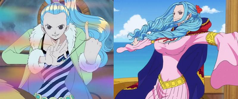 海賊王:尾田預料之外的5件事情,薇薇披發像公主,羅比基德重要