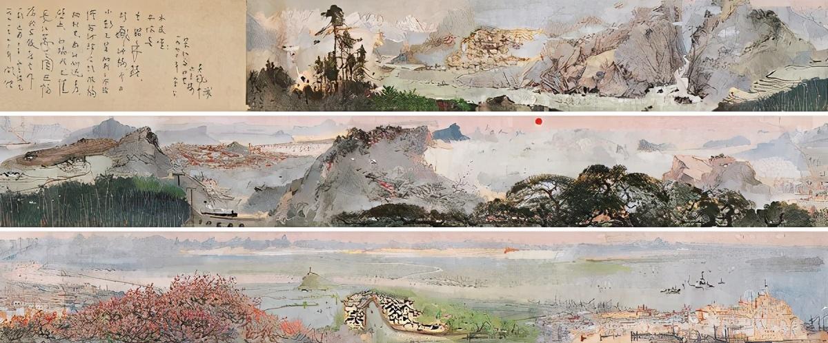 《长江万里图》从诞生之日起注定名垂画史