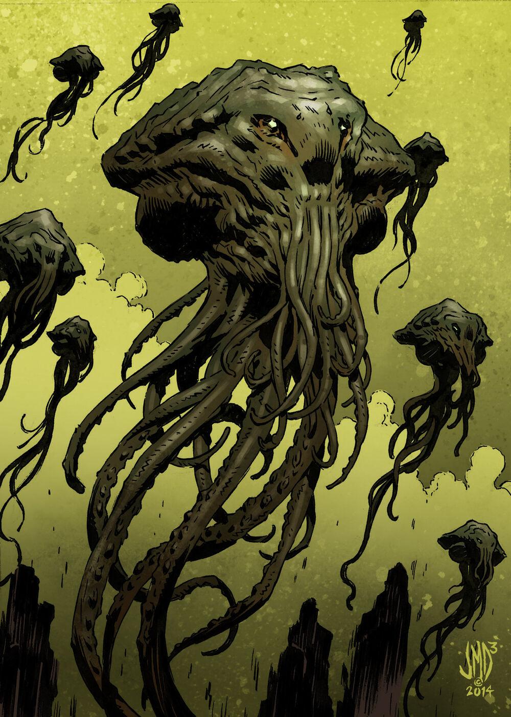 克苏鲁神话生物——星之眷族