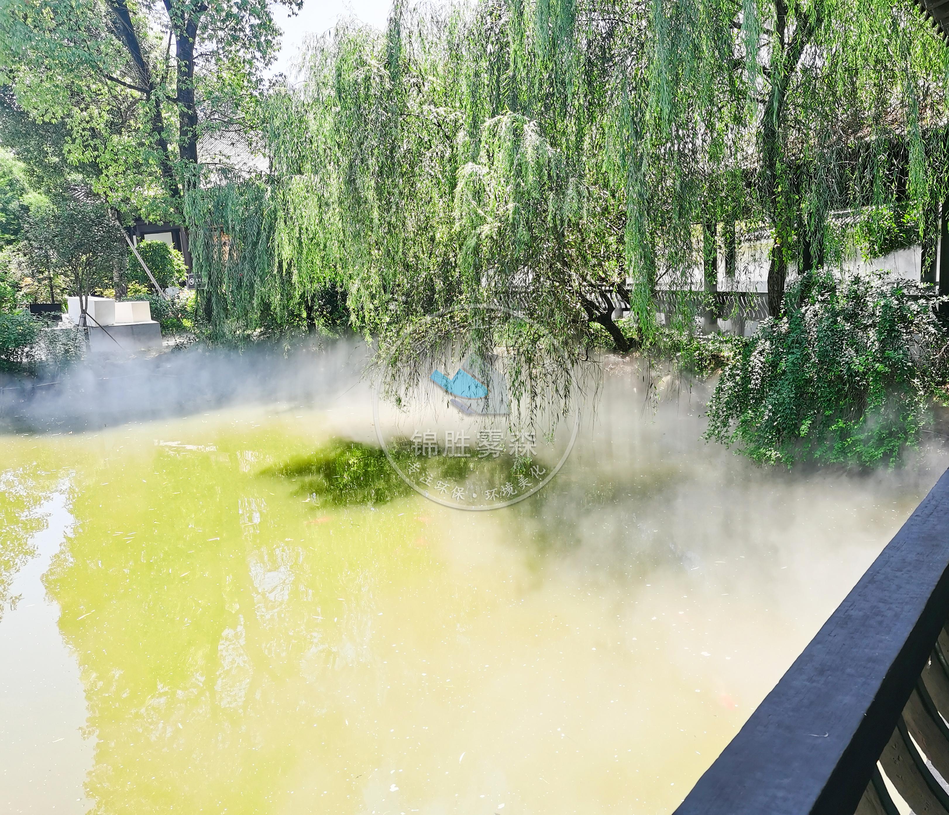 新型环保雾森系统,打造生态健康环境——锦胜雾森