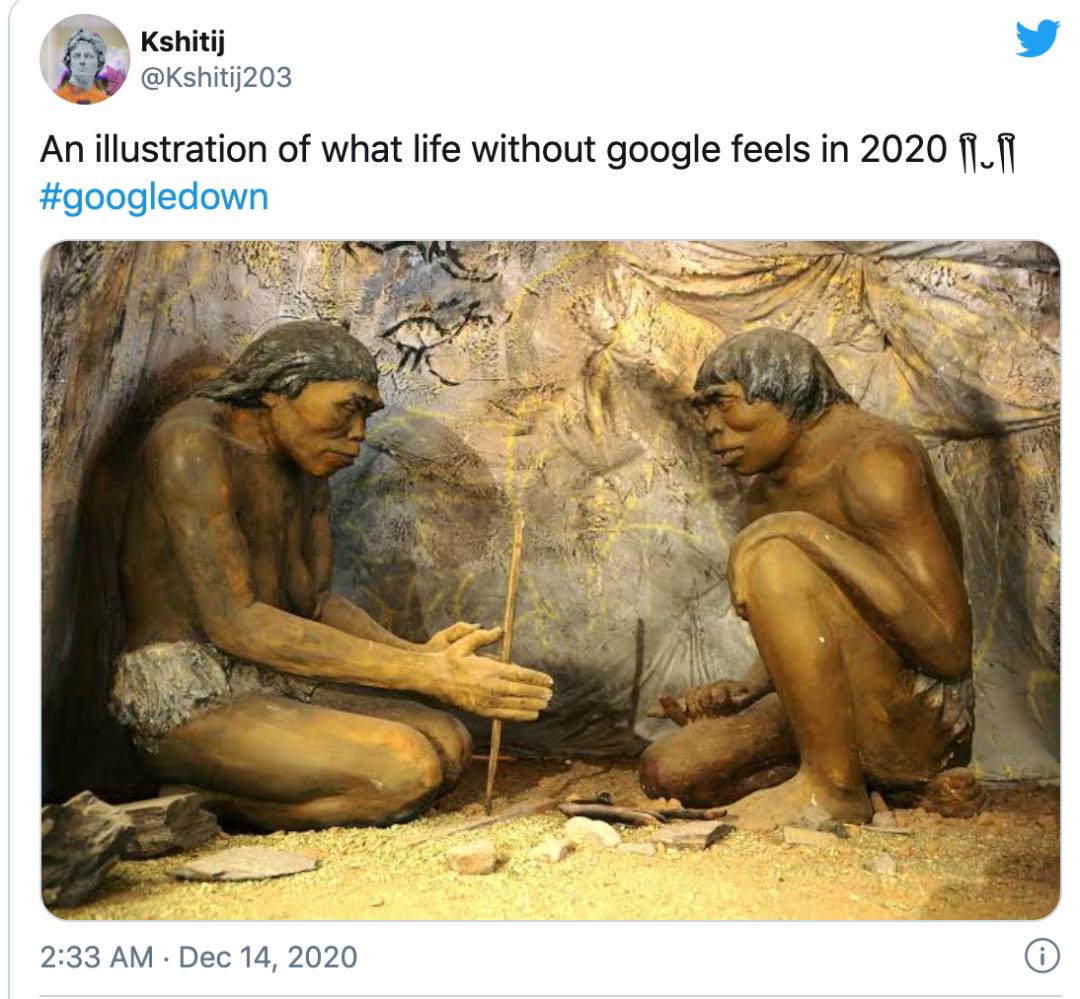 Google宕机45分钟,全世界网友急疯了