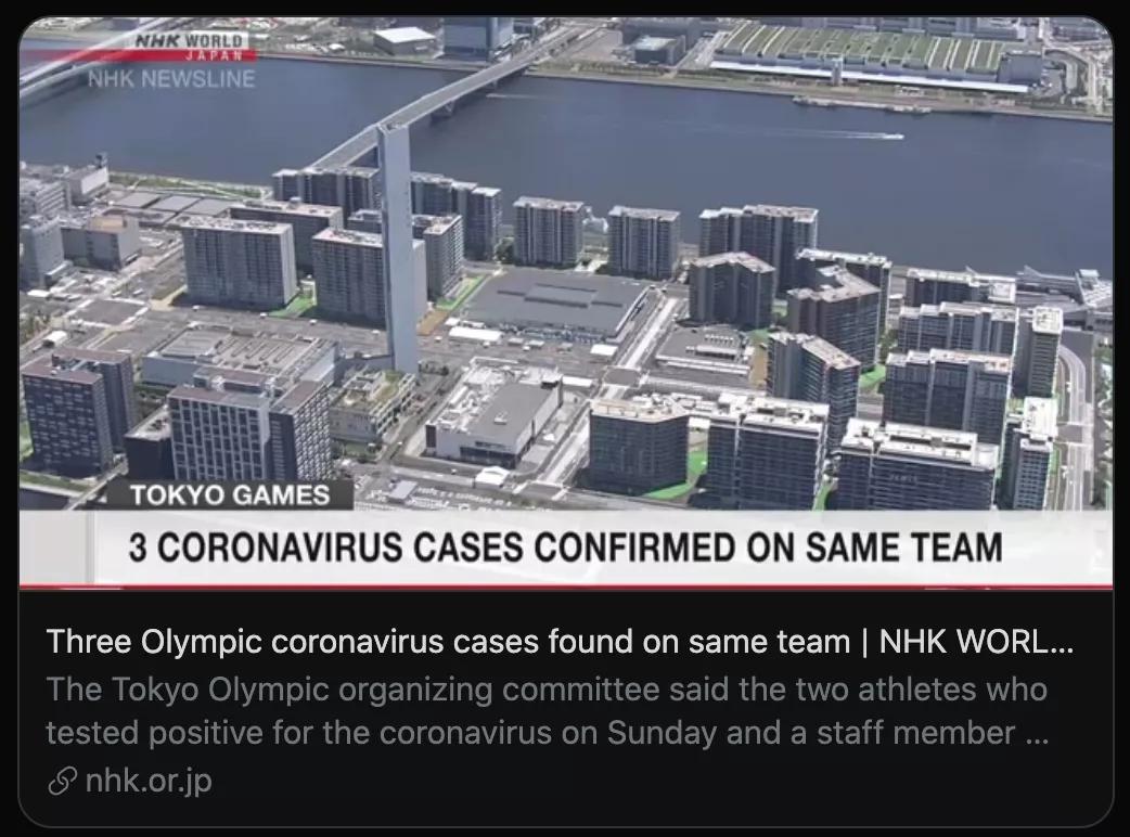 东京奥运会运动员确诊新冠,接下来该怎么办?