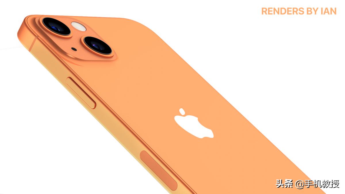"""亮点不够颜色来凑,iPhone 13 将推出""""黄铜色"""",土豪金再次来袭?"""
