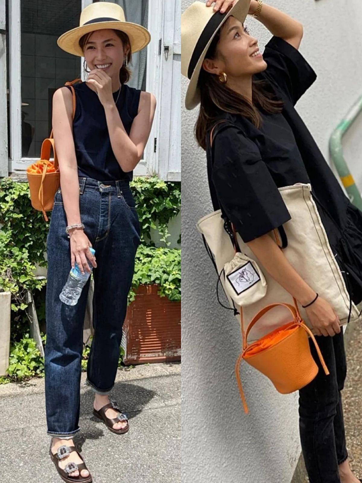 簡約實用的日本中年主婦穿搭,看著舒服清爽就算了,還很顯氣質