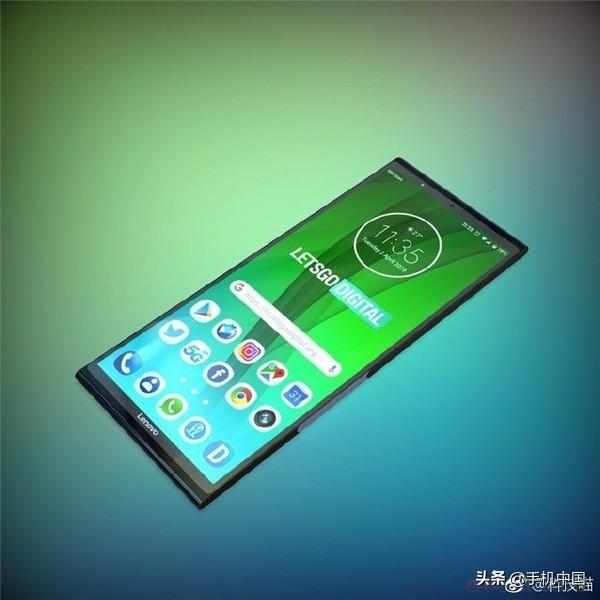 想到折叠屏手机专利权出现意外走光露点 延长款带鱼屏原先那样折