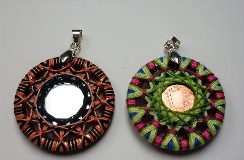 小纽扣手工改造出的装饰品